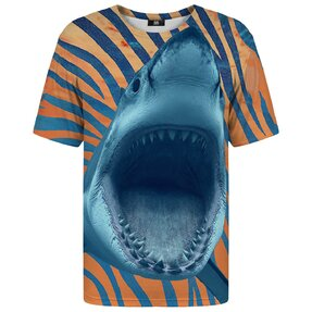 T-shirt with Short Sleeve Jaws