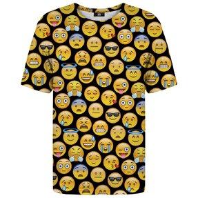 Tricou cu mânecă  scurtă Emoji