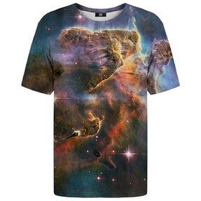 T-Shirt mit kurzen Ärmeln Galaktischer Nebel
