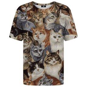 Tričko s krátkym rukávom Kopa mačiek