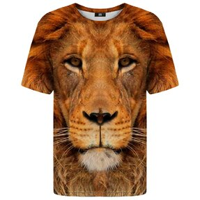 T-shirt with Short Sleeve Lion