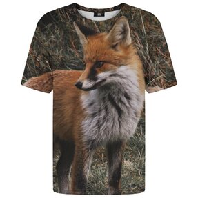 T-shirt with Short Sleeve Fox