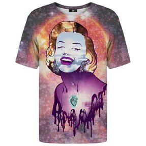 T-shirt with Short Sleeve Marilyn Monroe