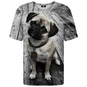 T-shirt with Short Sleeve Pug