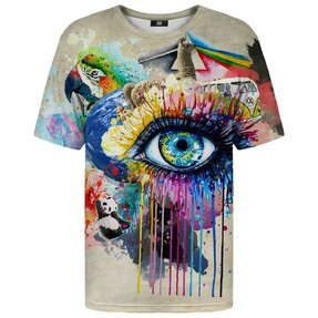 T-Shirt mit kurzen Ärmeln Gedanken und Träume