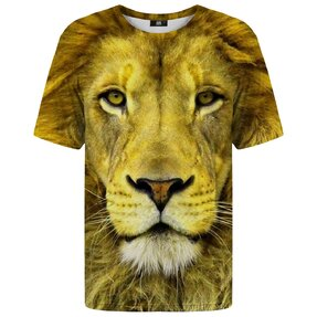 T-shirt with Short Sleeve Lion's Look