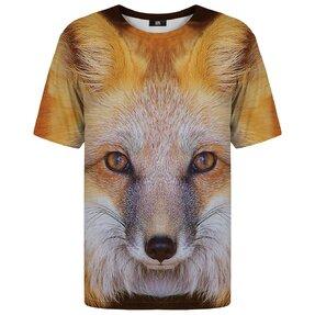 Tričko s krátkym rukávom Pohľad líšky