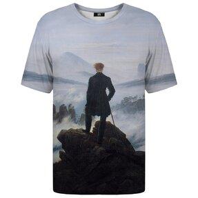 Tričko s krátkym rukávom Pútnik nad morom hmly