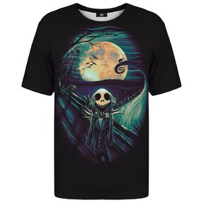 T-shirt with Short Sleeve Skellington