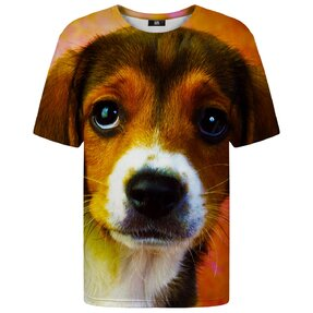T-shirt with Short Sleeve Beagle Puppy