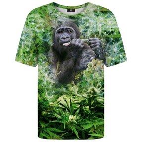 Tričko s krátkým rukávem Usmivající se gorila