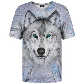 T-shirt with Short Sleeve Wolf