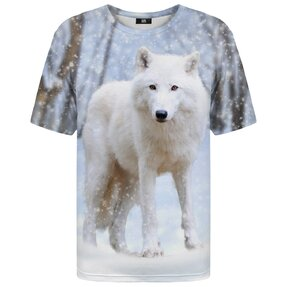 T-shirt with Short Sleeve Arctic Wolf