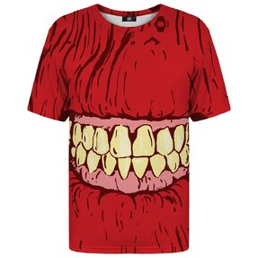 T-shirt with Short Sleeve Zombie Eyes
