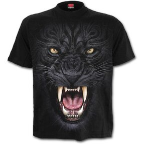 T-shirt with design Angry Panther