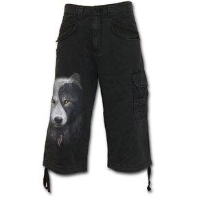 Farkas arc -Férfi háromnegyedes nadrág