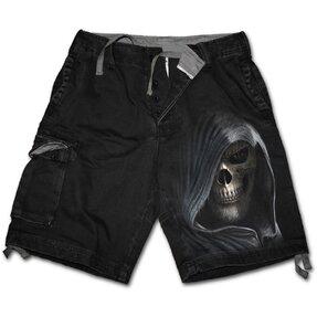 Pánske nohavice - krátke s motívom Temnota