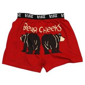 Vtipné pánské boxerky Medvědí zadečky
