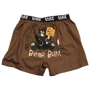 Funny Men's Boxers Feed the Bears