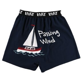 Funny Men's Boxers Passing Wind