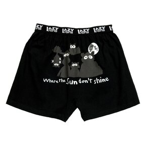 Funny Men's Boxers Where the Sun Don't Shine