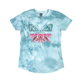 Ladies' Tri-blend T-shirt Wild & Free