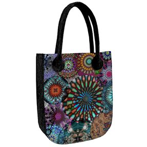 City Antracit Shoulder Handbag - Carousel