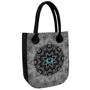 Schulter Handtasche City Antracit - Das Auge