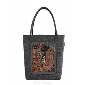 Schulter Handtasche Swing Antracit - Kenya