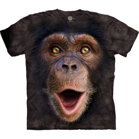 Kids' 3D T-shirt Surprised Chimp