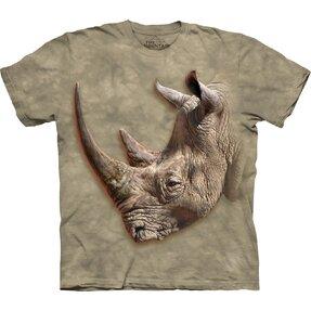 Dziecięca koszulka z krótkim rękawem Profil nosorożca