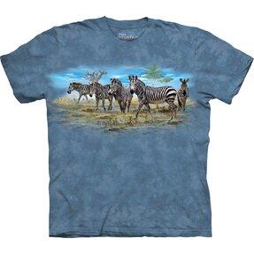 Dětské tričko s krátkým rukávem Zebry
