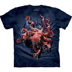 Kids' 3D T-shirt Octopus