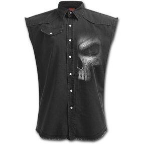 Košeľa bez rukávov Plus Size Pohľad z tieňa