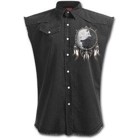 Hemd ohne Ärmel Plus Size Wolfspaar