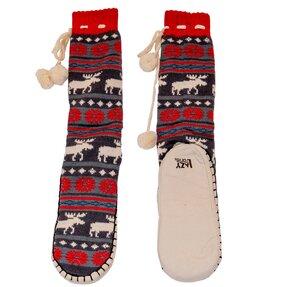 Ponožkové papuče Vianočné losy