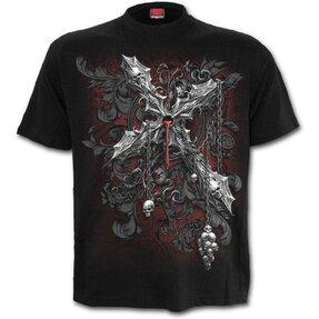 Tricou mânecă scurtă Crucea întunericului