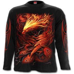 Herren T-Shirt mit langen Ärmeln Phönix