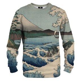 Sweatshirt ohne Kapuze Schiffe am Meer