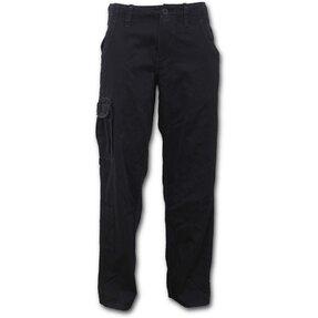 Denim nohavice Čierna