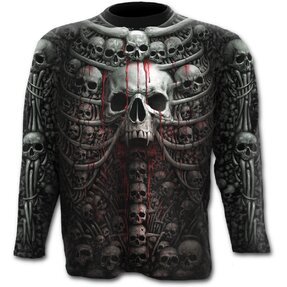 Long Sleeve Plus Size Skull Collection