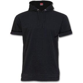 Fekete Rövid ujjú pulóver  a5dbbc73d9