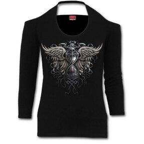 Tričko okolo krku Temnota