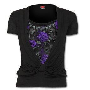 T-Shirt Knoten 2in1 Beobachterinnen