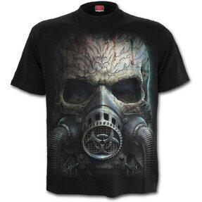 Tričko s motívom Lebka s maskou