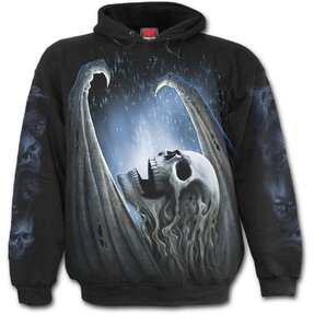 Sweatshirt with design Winged Skeleton