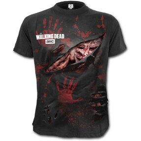 Tričko plus size  s motívom Walking Dead Zombie - All Infected