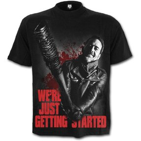 T-shirt Walking Dead with design The Walking Dead Negan - Just Getting Started