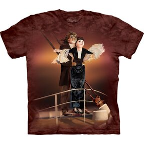 T-shirt with Short Sleeve Cat Titanic