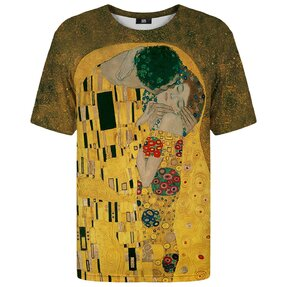 T-shirt with Short SleeveKiss Painting